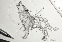 Jak rysować...inspiracja... / Często zastanawiam się jak coś narysować żeby mój rysunek był lepszy a właśnie tutaj znajduje na to odpowiedź...na Pintereście