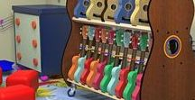 Classroom Instrument Storage / This board contains pictures of our musical instrument storage products for classrooms, available at https://www.BandStorage.com.