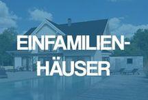 Einfamilienhäuser - Einfamilienhaus als Klassiker unter den Häusern / Der Klassiker unter den Häusern: Gestatten Sie sich hier einen Einblick in die weite Welt der individuellen Einfamilienhäuser inkl. Grundriss als Massivhaus.