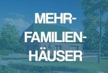 Mehrfamilienhäuser - Hausideen und Grundrissvorschläge für mehrere Generationen / Massivhaus mit Einliegerwohnung und mehr: Schauen Sie sich hier vielfältige Hausideen und Grundrissvorschläge für mehrere Generationen an.