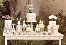 *party & shower ideas / I'm a sucker for a pretty party / by Sarah Rettew
