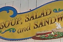 soup, salads and sandwiches / by Angie Crews