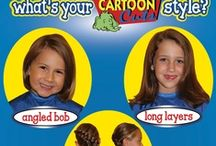 Cartoon Cuts Kids / Please use this board to upload pictures of your child's Cartoon Cuts style after they have gotten their hair cut at Cartoon Cuts.