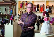Robert Tonner - Tonner Doll Company / World-renowned doll designer and collector Robert Tonner is the driving force behind the creations of the Tonner Doll Company. You can discover more about Robert in this introduction on our site: http://www.tonnerdoll.com/about-tonner / by Tonner-Wilde-Effanbee Dolls