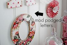 Crafty Crafts / Things to try... / by Mary Bouyett