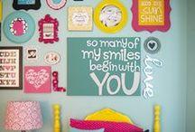 Ideas for Lauren Kate's Bedroom / Vibrant and Full of Life!