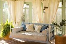 Sweet Tea and Summer Breeze... / Southern porches