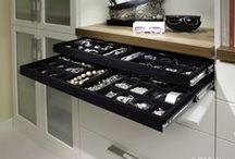 Closet Storage Accessories / Options available for efficient closet storage