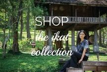 The Kindcraft Shop: The Ikat Collection / Our Ikat Collection is made with handwoven Thai textiles. Learn more about our Maker Collaborations and shop our ethical fashion collections and handmade homewares at shop.thekindcraft.com