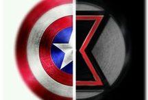 Romanogers <3 / Natasha Romanoff x Steve Rogers
