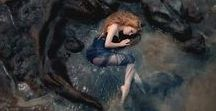 Athena Ravenna Windsong / Inspiring mermaid/water pics