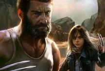 Logan & Laura / Perhaps the greatest X-Man of all time.... And his just as great daughter.