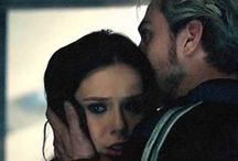 Maximoff Twins / Wanda & Pietro Maximoff, the twins from the MCU. They are just perhaps my favourite canon relationship of all time.