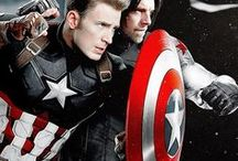 Steve + Bucky = The Ultimate Broship / Legit. Steve and Bucky will be forever brothers, and they have the ultimate ongoing bromance in the MCU.   (and they will never, ever be gay)