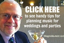 My Tips for Planning Music / A growing collection of handy tips I use to help brides-to-be and event planners select music for their celebrations.