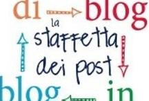"""DI BLOG IN BLOG / """"Di Blog In Blog """" è una staffetta tra blogger, ogni mese un argomento e tanti blogger che ne parlano. Rimani aggiornato tramite la fan page dove troverai anche le info per partecipare - http://www.facebook.com/staffettaBLOG/info -"""