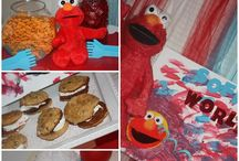 Elmo Themed 2nd Birthday Party / Elmo Themed Summer Party / by Sarah Event Planner (Sarah Sofia Productions)