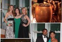 Black Tie Event / || Sarah Sofia Productions  #gala #blacktie #queencitygala #moscowmule #shrimp&grits #dancing #coral #blue #orange #signaturedrink #floralarrangements #flowers #décor #candles #fashion #attire #charlottebloggers #events  / by Sarah Event Planner (Sarah Sofia Productions)
