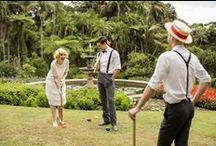 Glamour on the Grass: 1920s Lawn Party / A 1920s-inspired long lunch set in the grounds of Vaucluse House.