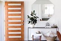Entryway / An entryway is the first impression people get when they enter a home. Make it a good one and get inspired by these simple and chic ideas!
