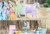 Fairies, Unicorns and Rainbows Kids Party / Girl Birthday Party Inspiration, party planning, party ideas, girl birthday, kids party ideas, food, DIY, décor, event décor