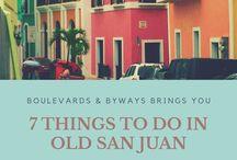 San Juan Puerto Rico Travel / Things to do, places to eat, where to go in Old San Juan, Puerto Rico. Culture & history of Old San Juan.