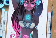 ART BY LARIENNE / She is super talented