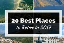 Where to Retire / The best places to retire Retirement tips | http://boulevardsandbyways.com