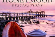 Honeymoon destinations / The best destinations for a perfect honeymoon. | http://boulevardsandbyways.com