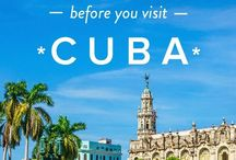 Cuba Travel / Travel to Cuba and discover things to do, places to stay, what to eat.