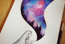 Tegninger og kunst
