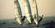 Speed Sail - Mauritanie 1994 - Vers Tafarit / Raid Cap Blanc - Cap Vert : le 21 octobre 1994, trajet de Nouadhibou au Cap Tafarit