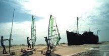 Speed Sail - Mauritanie 1994 - Vers Nouakchott / Raid Cap Blanc - Cap Vert : du 24 au 26 octobre 1994, trajet de  Nouamghar à Nouakchott