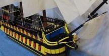 Lego HMS Agamemnon / Lego HMS Agamemnon