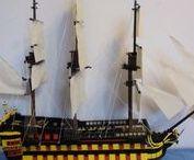 Lego french frigate