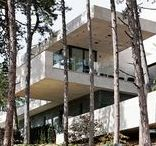 "Forest Villa - main building / ""Pro Architectura award 2012"" winner in Hungary, designed by Stoa Studio, Bálint Ásztai and Csaba Kovács"