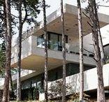 "Forest Villa - main building / ""Pro Architectura award 2012"" winner in Hungary, designed by Stoa Studio, Bálint Ásztai and Csaba Kovács"