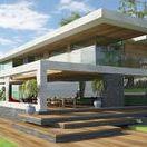 B167 Villa / Bauhaus design modern villa with swimming pool, designed by Stoa Studio