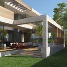 Római parti villa / Minimal, contemporary bauhaus villa, designed by Stoa Studio