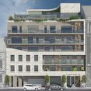 LEO50 / Lenoardo 50 residential luxury bauhaus condominium in Budapest, designed by Stoa Studio