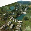 Zalacsány masterplan / Masterplan for Zala Springs Golf Resort: clubhouse, apartments, lake etc.