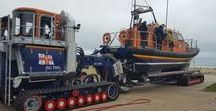 Vehicles / Various vehicles involved in launch, recovery & operations to do with rescues from water.