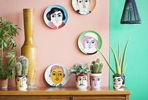 Clay Decor / Everyday, in your home, ceramic objects bring beauty and meaning to our lives. Invest in clay decor to brighten your home.