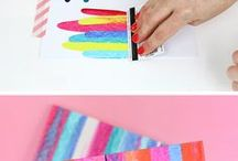 Craft Inspiration & Techniques / Get inspired with these new craft techniques. Look at your materials in a new way and get inspired to create your next project!