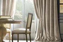 Furnishings: Curtains & Drapes / by Sharon Kearney