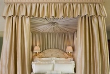 Furnishings: Bed drapery