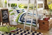 Spaces: Children's Rooms / Rooms children can 'grow-up with' rather than 'grow-out of'.