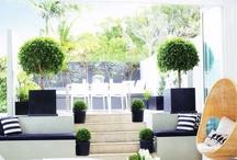 Spaces: Out door 'rooms' & patios