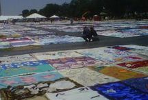 25th Anniversary of the AIDS Quilt