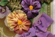 Fabric, Paper and Ribbon Flowers and Corsages / Handmade Flowers and Corsages